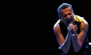El cantante de Depeche Mode