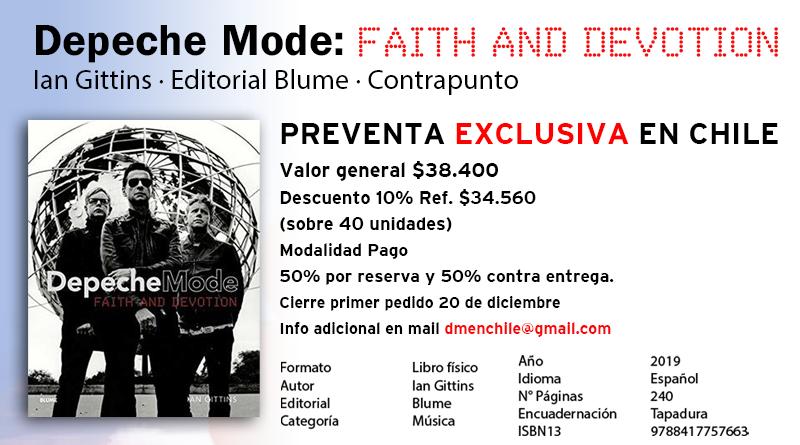 Libro Depeche Mode